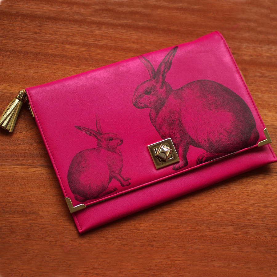 Heritage and Harlequin Hare Clutch Bag - Buy Online, UK