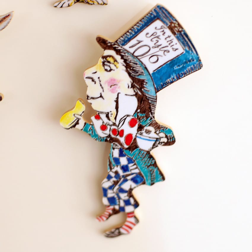 The Mad Hatter Fridge Magnets to buy online from our London gift boutiques, UK