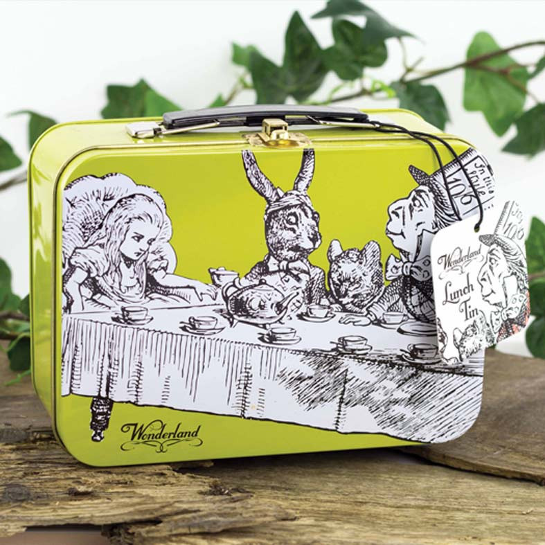 Alice in Wonderland Lunch Box buy online from our London Shops, UK