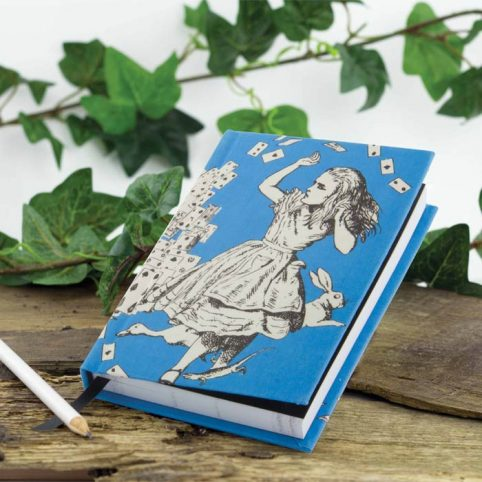 Alice In Wonderland Notebook, gifts to buy online, London UK