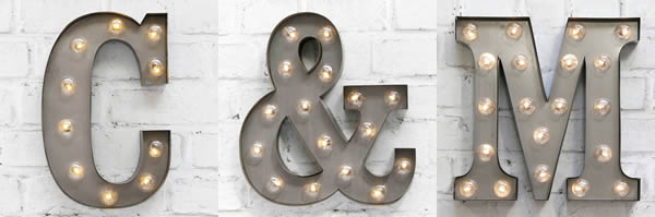 Carnival Lights Letters to buy online from Source Lifestyle