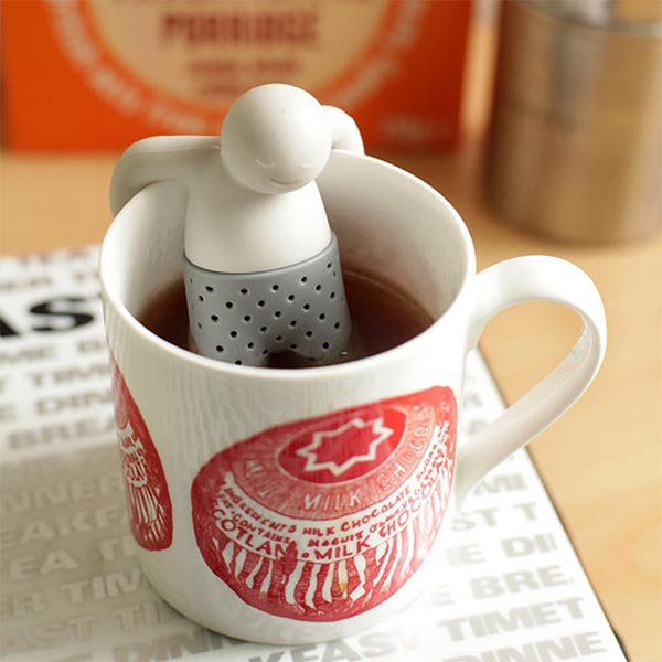 Do it as Mr Tea and relax with a cup of Tea!