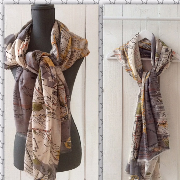 map scarf new york 163 27 50 buy uk