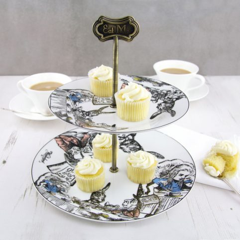 Alice in Wonderland Cake Stand for sale online from London gift shop in Spitalfields, UK