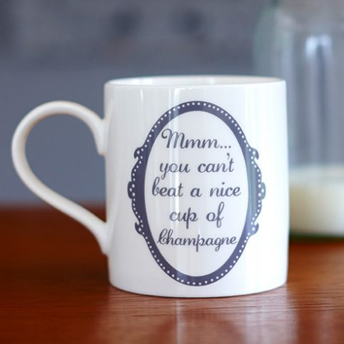 Fot those who Love bubbles a this is a brilliant mug by Catherine Colebrook