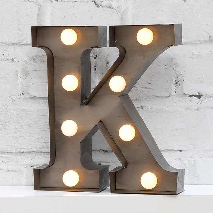 Fairground letter lights k 700 for Light letters for sale