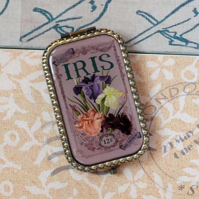 Iris Design compact mirror by Disaster Designs, buy UK