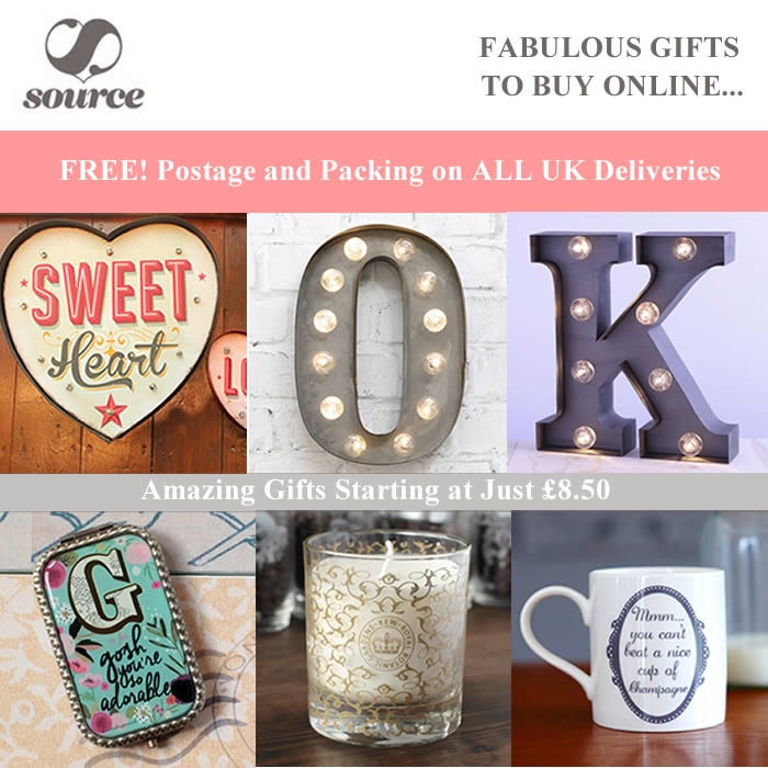 Free postage and packing - Summer Offer at Source Lifestyle