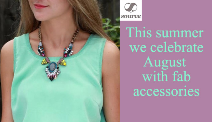 Crystal Candy Necklace - The Perfect Summer Accessory