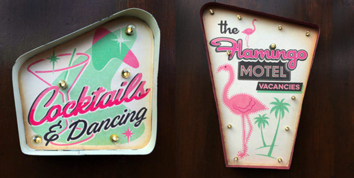 Fabulous Light Up Signs by Temerity Jones