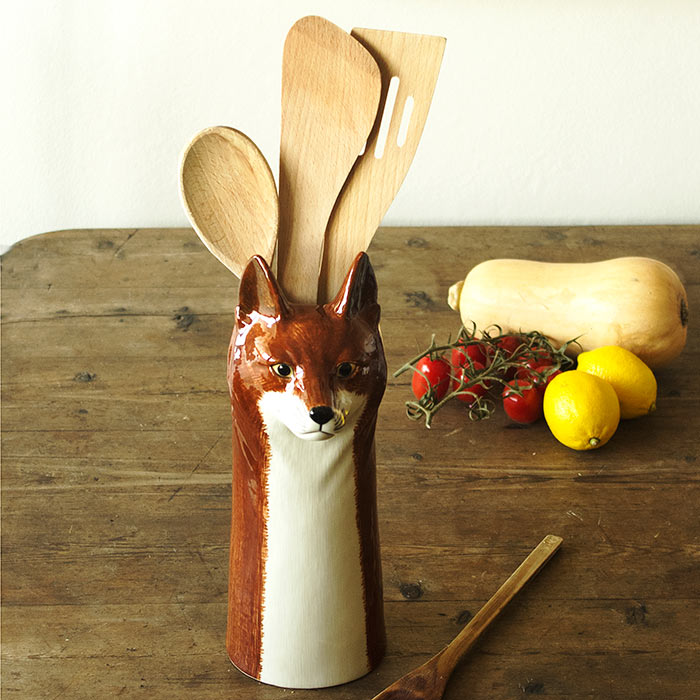 Fox Vase is also great for storing kitchen utensils