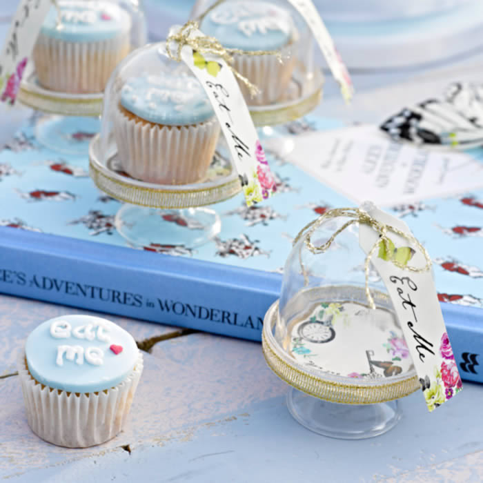 Mini Cake Domes for cup cakes, buy online UK