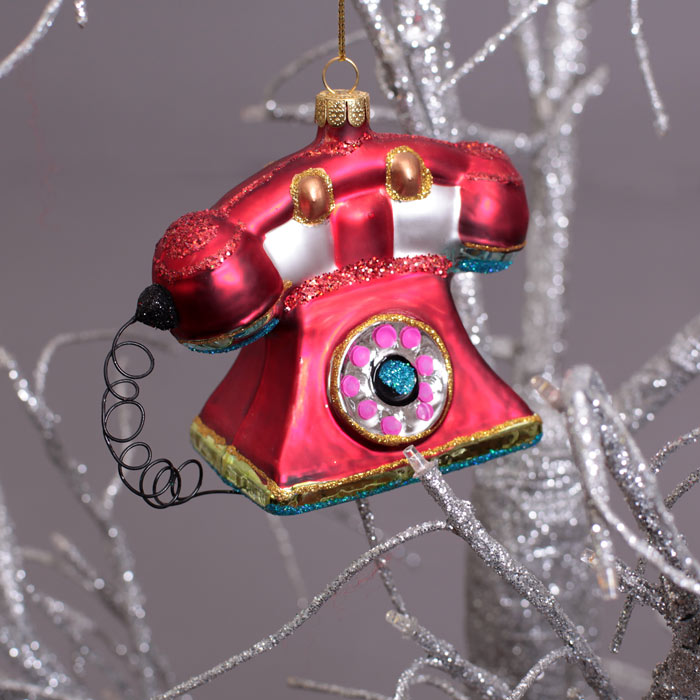 Retro Christmas Ornaments - Free p&p Buy Online UK