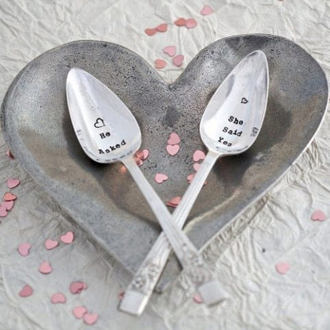 Wedding Spoons by La de da