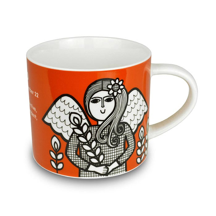 Virgo Mug by Jane Foster - Free UK Delivery