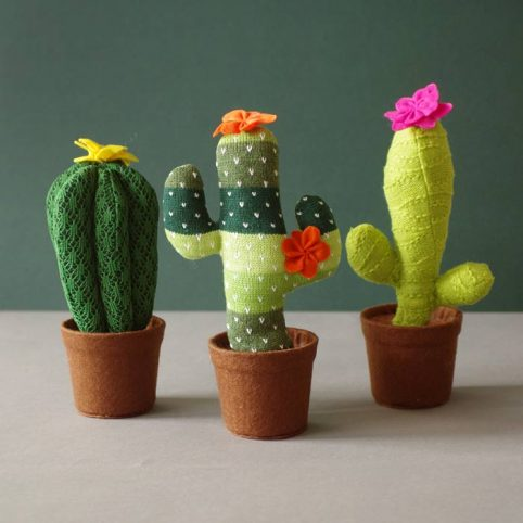 Knitted Cactus Large Collection - by Temerity Jones