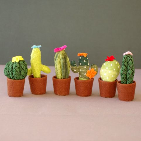 Knitted Cactus Temerity Jones, buy £4.50 free UK delivery