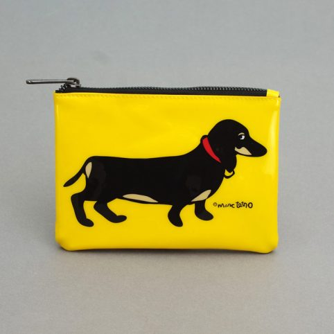 Dachshund Makeup Bag by Marc Tetro - Free UK Delivery