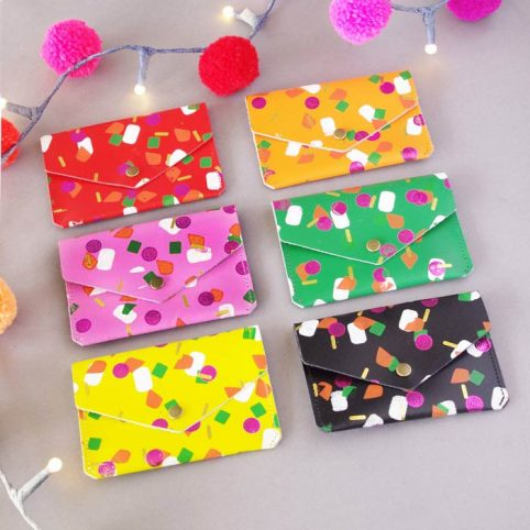 Funky Coin Purses made in the UK