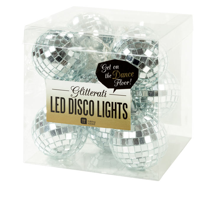 LED Disco Ball Fairy Lights