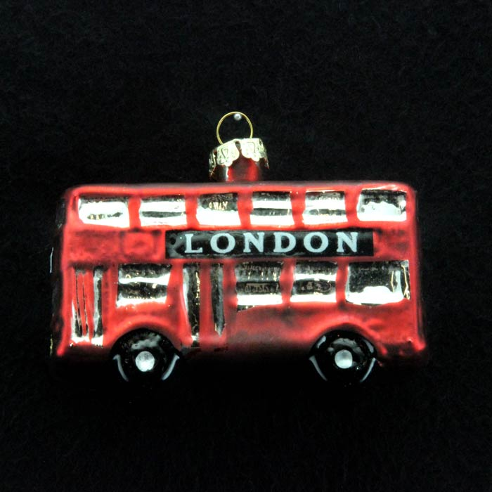 Where To Buy Christmas Decorations London: London Bus Christmas Decoration