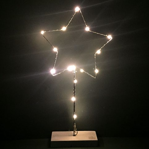 LED Star Light by Two's Company Free P&P