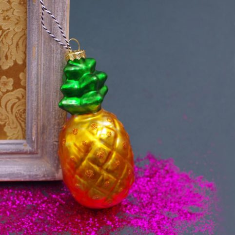 Pineapple Christmas Decoration by Lisa Angel £10 Buy Online Free p&p