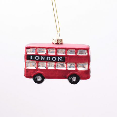London Bus Christmas Ornament  Buy Online UK