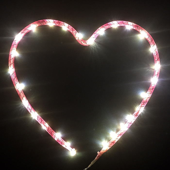 Illuminated Heart - Quirky Christmas Lights