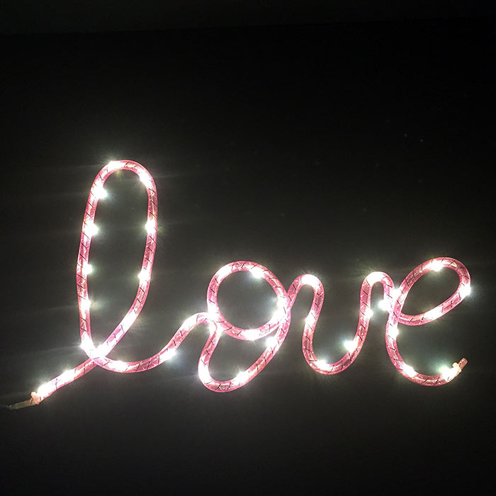 Love Illuminated Sign - Buy Online UK
