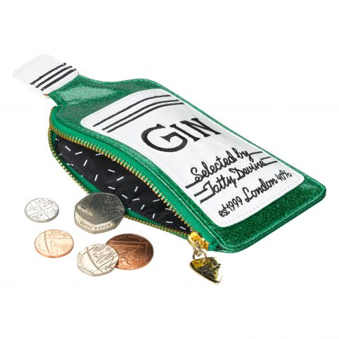 Gin Coin Purse by Tatty Divine - Buy Now