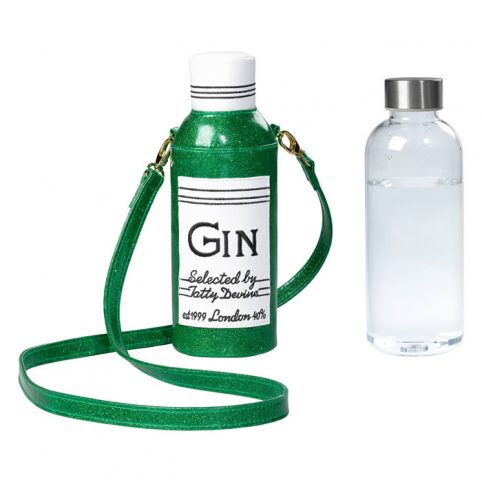 Tatty Devine Gin Water Bottle Bag buy online UK delivery