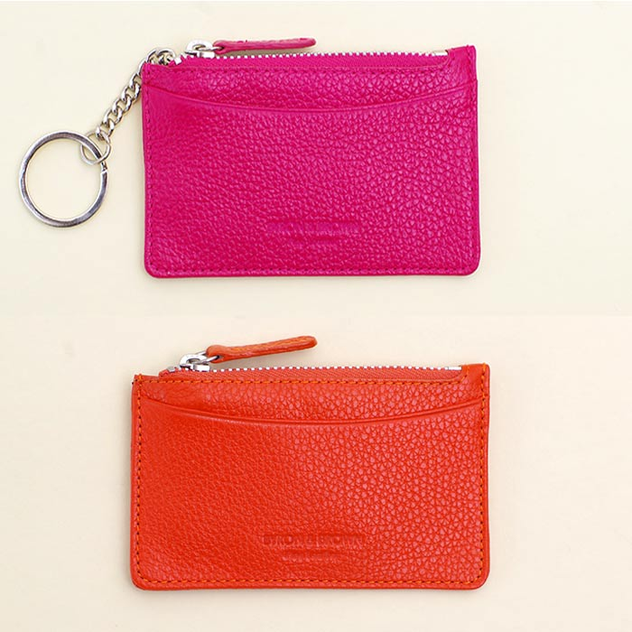 Leather Key Pouches by Byron & Brown