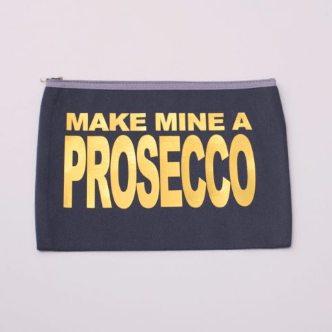 Prosecco Slogan Gifts - Wash Bag