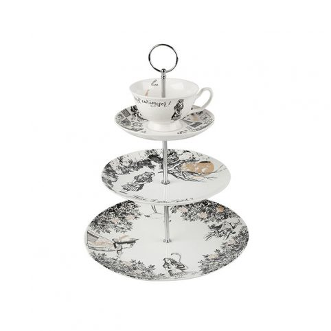 Alice Three Tier Cake Stand by V&A