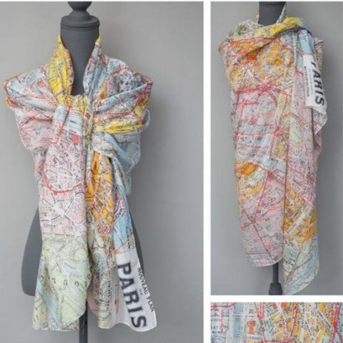 Little Paris Scarf by One Hundred Stars - Free UK Delivery