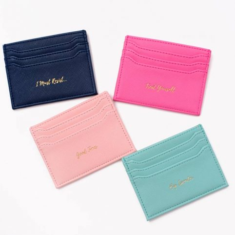 Womens Slim Card Holders - Fits 8 cards