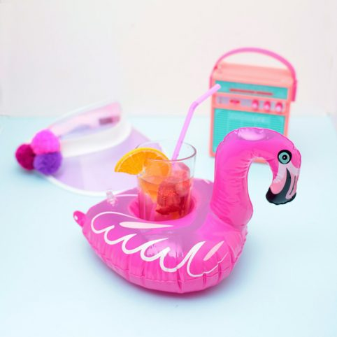 Inflatable Drinks Holder UK - Flamingo from NPW