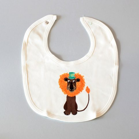 Lion Bib from Petra Boase