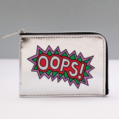 Little Miss Naughty Metallic Wallet - Buy Online UK