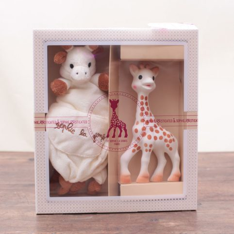 Sophie the Giraffe Gift Set - Teething toy and comforter