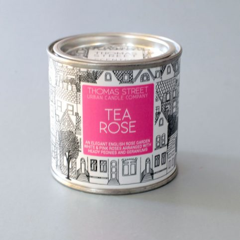 Tea Rose Candle - £10.50 Free UK Delivery