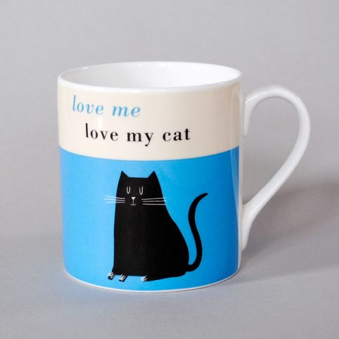 Cat Lover Gifts - Love Me Love My Cat by Gift Republic