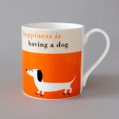Happiness is Having a Dog Mug - Free UK Delivery