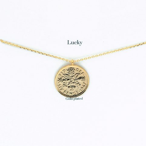 Lucky Coin Necklace - £17.50 Free UK Delivery