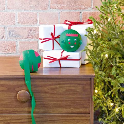 Christmas Advent Game - Peel the Sprout