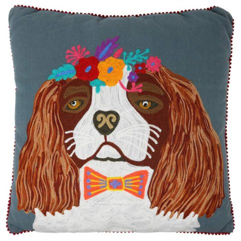 Spaniel Cushion - Free UK Delivery