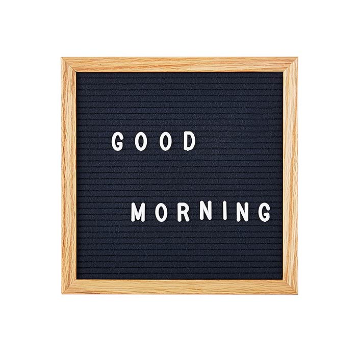felt letter board in 5 assorted colours. Black Bedroom Furniture Sets. Home Design Ideas