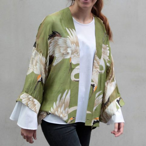 One Hundred Stars Stork Kimono - £40 Free UK Shipping