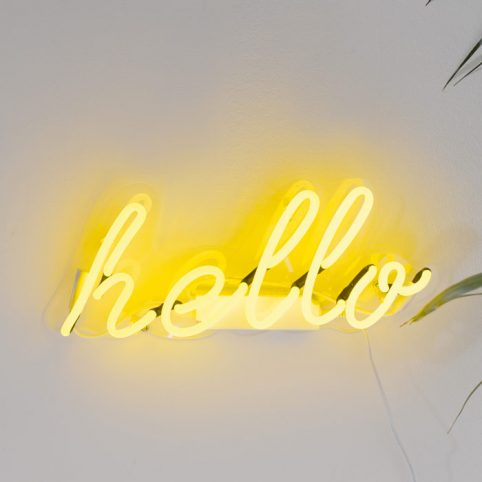 Hello Neon Sign by Talking Tables £50 Free UK Delivery